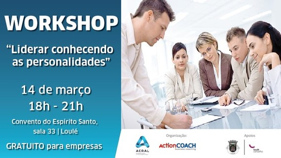 "Workshop ""Liderar conhecendo as personalidades"""